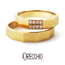 ORECCHIO(オレッキオ)_【本誌特集掲載中】<safariサファリ>結婚指輪FM2206/FM2205
