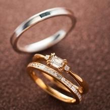 ORECCHIO(オレッキオ):【本誌掲載中】<pipi~ピピ>婚約指輪 PE‐1406