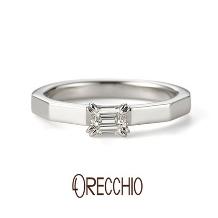 ORECCHIO(オレッキオ):<safari~サファリ>婚約指輪 FE-1205-P