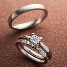 ORECCHIO(オレッキオ):【本誌掲載中】<aman~アマン>婚約指輪 AE‐1302