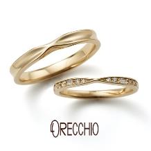 ORECCHIO(オレッキオ):※新作※<siena~シエナ>結婚指輪 SM-2118-K/SM-2119-K