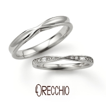ORECCHIO(オレッキオ):※新作※<siena~シエナ>結婚指輪 SM-2118-P/SM-2119-P