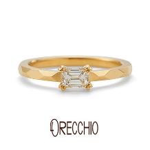ORECCHIO(オレッキオ)_<aman~アマン>婚約指輪 AE-1305