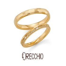 ORECCHIO(オレッキオ)_<aman~アマン>結婚指輪 AM-2313/AM-2314
