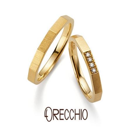 ORECCHIO(オレッキオ):<safari~サファリ>結婚指輪 FM‐2205S‐K/FM‐2206S‐K