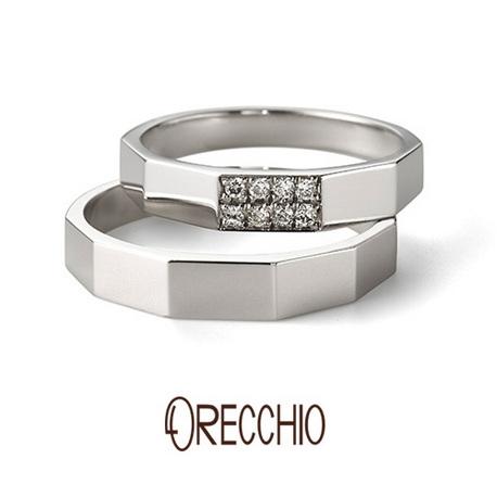 ORECCHIO(オレッキオ):【本誌掲載中】<safari~サファリ>結婚指輪 FM-2206/FM-2205