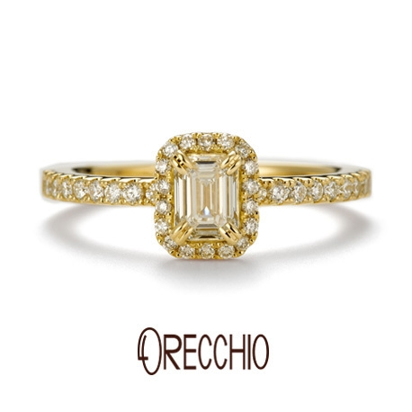 ORECCHIO(オレッキオ):※新作※<siena~シエナ>婚約指輪 SE-1112-K
