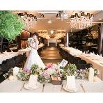 兆 堂島:スタイリッシュな空間にナチュラルな白&グリーンも上手く溶け込む大人可愛い女子に人気会場です♪