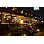 Restaurant&Cafe MOULiN:記念撮影に人気のテラス。