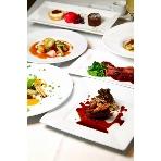 Restaurant CAFE GARB(カフェガーブ):パーティ当日の料理をフルコースで試食可能。詳しくはプランナーに聞いてみて!