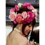 kobushi no ki こぶしの木:【ピンクカローラ】人気の花冠☆ボリュームを抑えれば、価格もDOWN↓