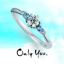 D-carat (ディーカラット)_【Only You】穏やかな水平線をイメージした端正な表情をみせてくれるリング