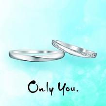 D-carat (ディーカラット)_【Only You】うち寄せるさざ波をイメージしたリング。