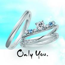 D-carat (ディーカラット):【Only You】うち寄せるさざ波をイメージしたリング。
