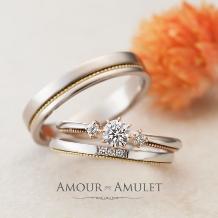 garden(ガーデン):アンティーク調のコンビリングなら...Amour Amulet