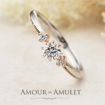 garden(ガーデン)_アンティーク調のコンビリングなら...Amour Amulet