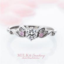 garden(ガーデン)_可愛さで選ぶなら☆ピンクダイヤモンドの『Milk&Strawberry』