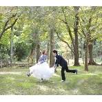 ロケーション撮影、前撮:Wedding Story館