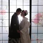 スタジオ撮影、前撮:Wedding Story館