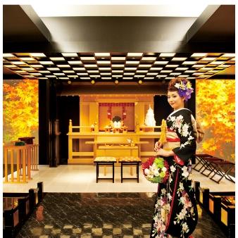 エテルナ高崎:【オリジナル和婚が魅力★】ゲスト大感動の神殿演出を体験!