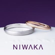 minoru(ミノル):【minoru】素材や幅が選べるシンプルなリング 俄 NIWAKA(ことほぎ)