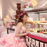 シャトレーゼ ガトーキングダム サッポロ:チョコファウンテンも楽しめる【ランチ付】お菓子の王国フェア♪