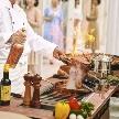 ローズガーデン/ロイヤルグレース大聖堂:【お料理重視の方】黒毛和牛&オマール海老無料試食×演出体験♪