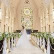 ローズガーデン/ロイヤルグレース大聖堂:【100万特典】花嫁憧れ大聖堂挙式×ドレス試着×2.5万試食