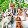 セントグレース大聖堂 the Garden by NEXT WEDDING:【ペットも可】2名45万円~★新・ベストブライダルの家族婚★