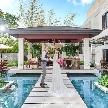セントグレース大聖堂 the Garden by NEXT WEDDING:【ガーデン演出体験】水辺のリゾート貸切邸宅&無料試食付フェア