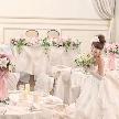 八代ホワイトパレス:【プレ花嫁絶賛!】憧れのドレスで花嫁体験&スイーツ付き