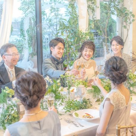 ルミエール(ホワイトパレス):\移動ゼロ/挙式・披露宴・二次会まで全てOK☆相談会☆試食付