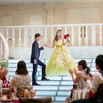 マリアージュ彦根:*可愛いドレスで階段入場!*演出体験ウェディングフェア♪