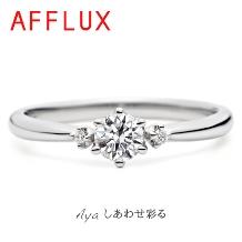 JEWELER KIYOTA_【AFFLUX】シンプルで普段使いにも◎ゆびわ言葉:しあわせ彩る Aya(アヤ)