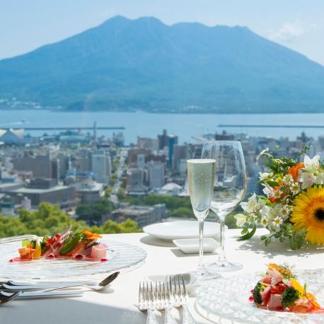 SHIROYAMA HOTEL kagoshima(城山ホテル鹿児島):ランチ満席御礼★宿泊券付★絶景と美食を堪能できる試食×相談会