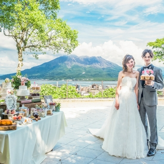 SHIROYAMA HOTEL kagoshima(城山ホテル鹿児島):宿泊券付き【鹿児島といえばまずここ♪】試食×試着よくばり体験