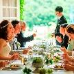 ロックハート城:【初見学歓迎】結婚式の準備1から相談♪不安解消♪試食付フェア