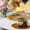 ザ・プリンス パークタワー東京:贅沢フレンチ♪メイン料理食べ比べ!森のチャペル&豪華会場見学
