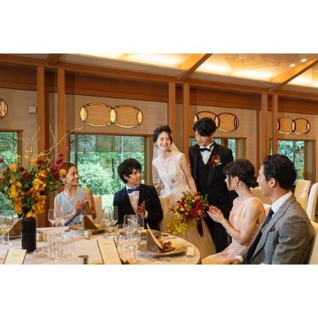 有栖川清水:落ち着いた空間で楽しむ【料亭×結婚式】相談会