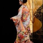 和装、白無垢、色打掛、黒引:桂由美ブライダルハウス