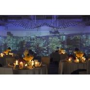 バードグリーンホテル レジーナ:【非日常的な空間演出】マッピングで自分らしい空間演出を!