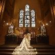バードグリーンホテル レジーナ:【時を超え受け継いだ本物のステンドグラス】本格大聖堂入場体験
