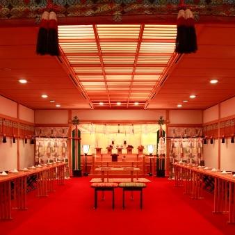 ヒルトン東京ベイ:神殿見学×贅沢ランチorデザートブッフェ付★和婚フェア