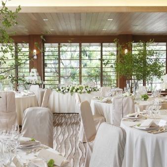 ヒルトン東京ベイ:【邸宅型ヴィラ】試食付緑豊かなパーティーウエディングフェア