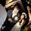 ウェディング&パーティ グレースバリ新宿店:仲間に囲まれて幸せの花道退場☆・。