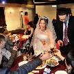ウェディング&パーティ グレースバリ新宿店:テーブルラウンドで皆様と乾杯