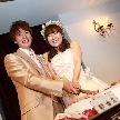 ウェディング&パーティ グレースバリ新宿店:ケーキ入刀!