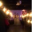 ウェディング&パーティ グレースバリ新宿店:美しい灯りのキャンドル演出