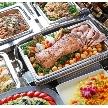 ウェディング&パーティ グレースバリ新宿店:料理は大切なゲストへのおもてなし。専属シェフが心を込めてお作りします
