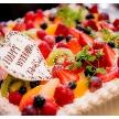 ウェディング&パーティ グレースバリ新宿店:フルーツケーキは当店の1番人気です